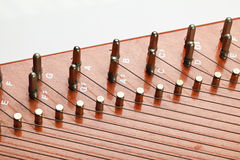 Autoharp Strings Stock Images