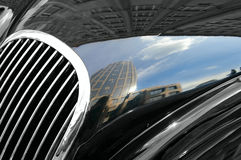Autohaube Lizenzfreies Stockfoto