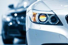 Autohauptlampe Stockbilder
