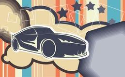 Autohintergrund Lizenzfreies Stockbild