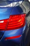 Autohintergrundbeleuchtung Stockfoto