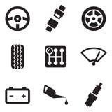 Autoikonen Lizenzfreie Stockbilder