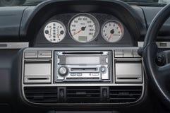 Autoinnenraum Stockbild
