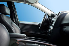 Autoinnenraum lizenzfreie stockfotografie