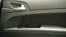 Autoinnenraum - Haustüransicht Stockfotos