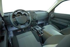 Autoinnenraum nicht für den Straßenverkehr Lizenzfreie Stockfotos