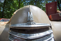 Autokap gaz-m-20 Pobeda bij de show van de auto's van inzamelingsretrofest royalty-vrije stock foto's
