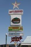 Autokino-Restaurant im North Carolina Lizenzfreie Stockbilder