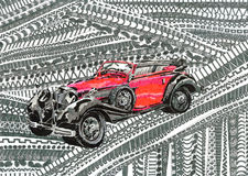 Autokleur Royalty-vrije Stock Afbeelding