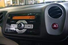 Autokonsole Stockfoto