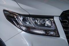 Autokoplamp met ondiepe diepte van gebiedsclose-up royalty-vrije stock fotografie