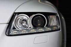 Autokoplampen Stock Afbeelding