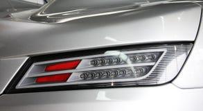 Autokoplampen Luxekoplampen royalty-vrije stock afbeeldingen