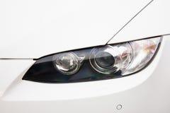 Autokoplampen Luxekoplampen royalty-vrije stock afbeelding