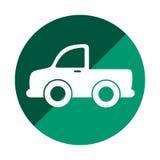 Autolastwagen-Fahrzeugikone Stockbilder