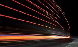 Autoleuchtespuren Lizenzfreies Stockbild