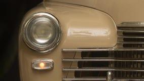 Autolichten het opvlammen stock footage