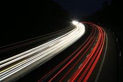 Autolichter Stockfotografie