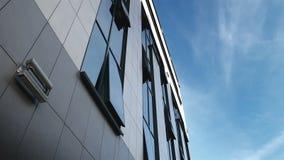 Automáticamente apertura y Windows de los edificios del negocio almacen de metraje de vídeo