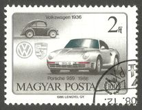 Automóveis, Volkswagen fotografia de stock royalty free