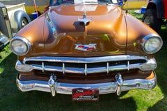 Automóvel 1954 de Chevrolet do clássico Fotografia de Stock
