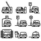 Automóvel de passageiros em vários lugares Imagens de Stock Royalty Free
