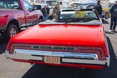 Automóvel 1968 de Pontiac Bonneville Fotografia de Stock Royalty Free