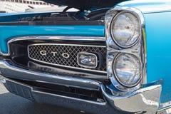 Automóvel 1967 de Pontiac GTO do clássico Imagens de Stock