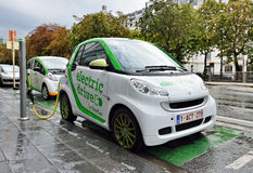 Automóvel de Zen Car Electric Drive Imagens de Stock Royalty Free