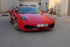 Automóvel luxuoso automotivo do carro de Ferrari imagens de stock royalty free