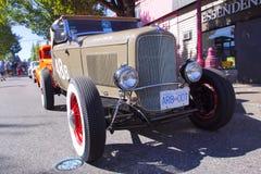 Automóvil antiguo clásico Foto de archivo libre de regalías