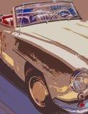 Automóvil de Brown ilustración del vector
