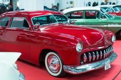 Automóvil de lujo del vintage en la exposición Fotografía de archivo libre de regalías
