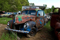 Automóvil del Junkyard Imagen de archivo