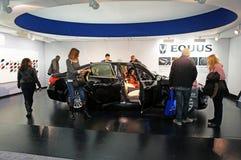 Automóvil del lujo del Equus de Hyundai Fotos de archivo libres de regalías