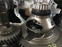Automóvil del motor del engranaje del detalle Fotos de archivo
