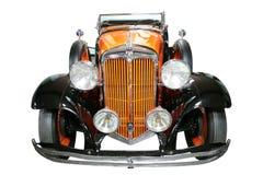 Automóvil del rojo de la vendimia fotos de archivo