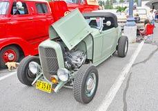 Automóvil descubierto 1932 de Ford Foto de archivo libre de regalías