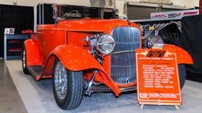 Automóvil descubierto de 1952 Ford en SEMA Fotografía de archivo libre de regalías
