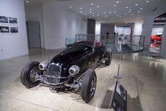 Automóvil descubierto 1927 de la aduana de Ford Model T del negro Fotografía de archivo