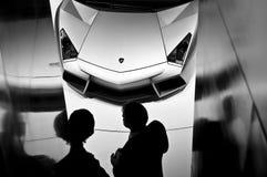 Automóvil descubierto de Lamborghini Reventon Imagen de archivo