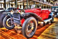 Automóvil descubierto de Lancia del italiano de los años 20 del vintage Imagen de archivo libre de regalías