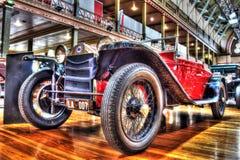 Automóvil descubierto de Lancia del italiano de los años 20 del vintage Fotografía de archivo