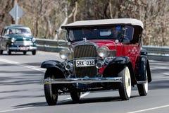 Automóvil descubierto 1932 de los deportes del confederado de Chevrolet Fotos de archivo