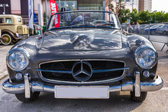 Automóvil descubierto de Mercedes Benz 190SL Imagen de archivo