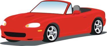 Automóvil descubierto de Miata Foto de archivo libre de regalías