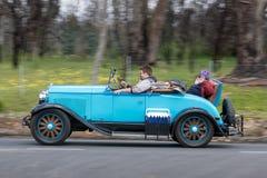 Automóvil descubierto 1929 de Plymouth Imágenes de archivo libres de regalías