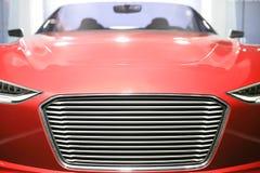 Automóvil descubierto rojo Imagen de archivo