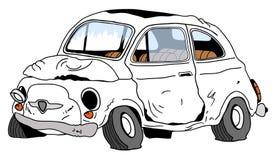 Automóvil destruido Fotografía de archivo libre de regalías