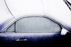 Automóvil helado imagenes de archivo
